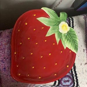 Strawberry Plate Spring